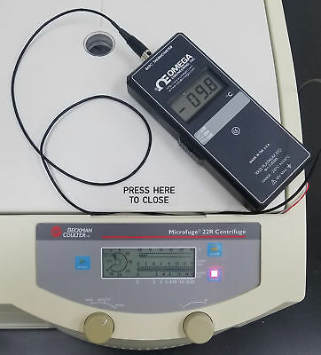 Warranty Beckman Coulter 22r Refrigerated Microfuge Centrifuge 24 Place Rotor