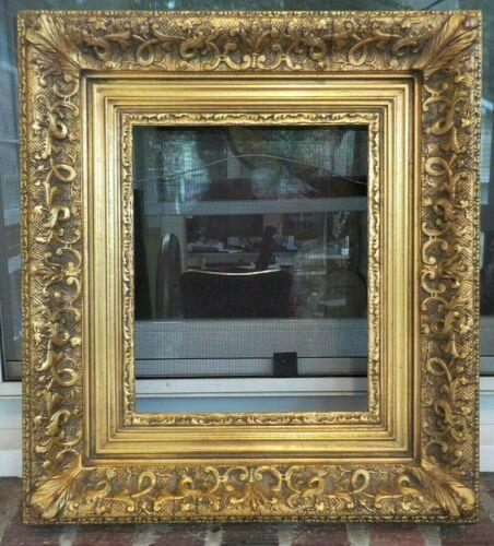 Vintage Midcentury BARBIZON Gilt GOLD Wood & Compo Frame 9 x 11 in. fit c1967