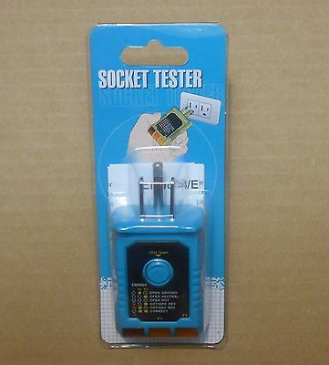 Electrical Wall 3-wire Receptacle Outlet Socket And Gfci Gfi Tester 120vac 15a