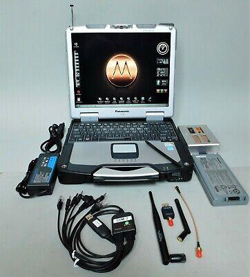 Radio Programmer Laptop w/ SDR-Based RF Receiver/Spectrum Analyzer w/ GPS; ADS-B