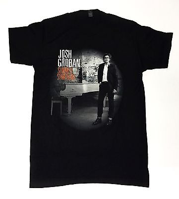 Josh Groban - Summer With The Symphony Medium T-Shirt Black Concert Tee