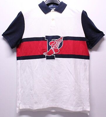 Polo Ralph Lauren Stadium 1992 White S/S Polo Shirt Men's Classic Fit Size M New