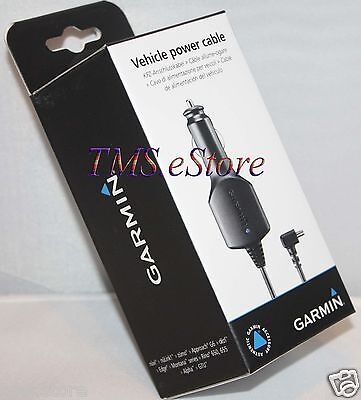 Genuine Garmin Vehicle Power Cable/Cord Charger for 2557LMT 2589LMT 2689LMT GPS