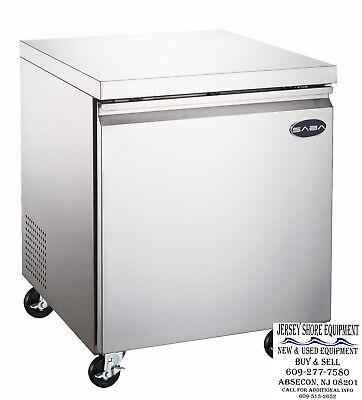 Saba 27 1 Door Commercial Undercounter Refrigerator Ss Steel Food Storage
