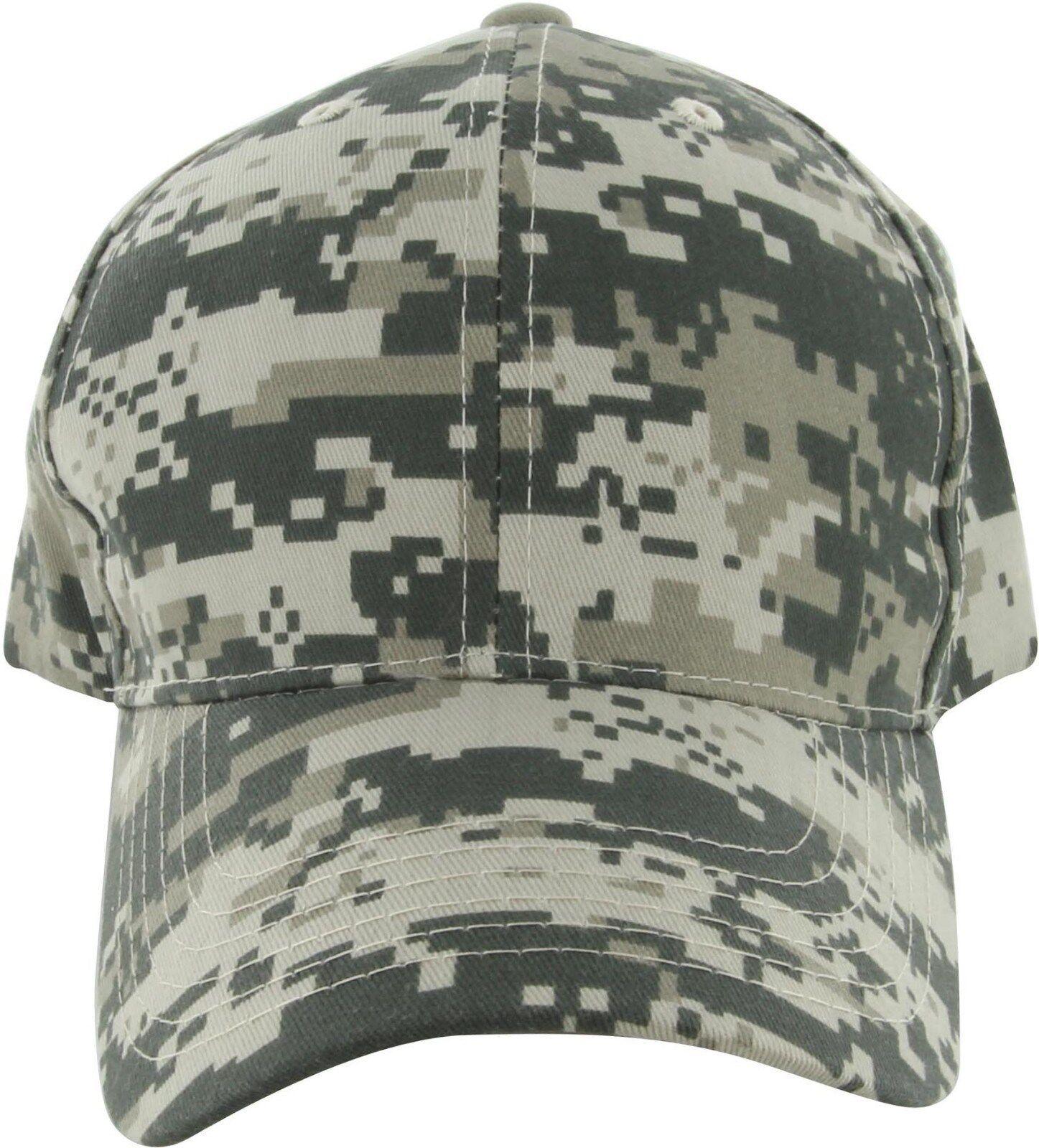 ce4dc367148 Peaches Pick NEW Digital Grey or Green Camo Cotton Twill Sport Caps
