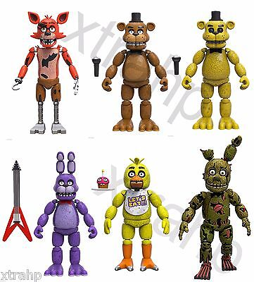 New Set Of 6 Five Nights At Freddy's 5
