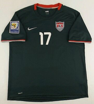 256634e65fc Vintage Nike 2008-2010 Team USA Jozy Altidore Soccer Jersey Size Mens XL