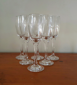 6pk Wine Glasses - 4 boxes available Casula Liverpool Area Preview