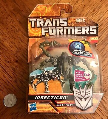 Transformers Hunt For The Decepticons Scout Class Insecticon New