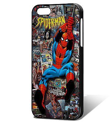Spider-man Comic Phone Case Fits iPhone 5/5s, SE, 6, 6plus 7, 7 plus, iphone X