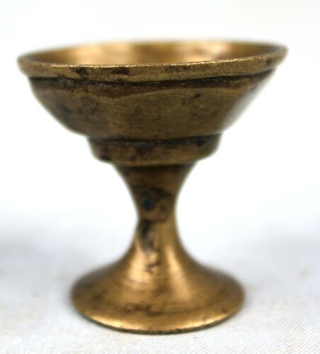 Art+African+-+Antique+Weight+Akan+Bronze+-+Shaped+Cut+Or+Chalice+-+3%2C5+CMS