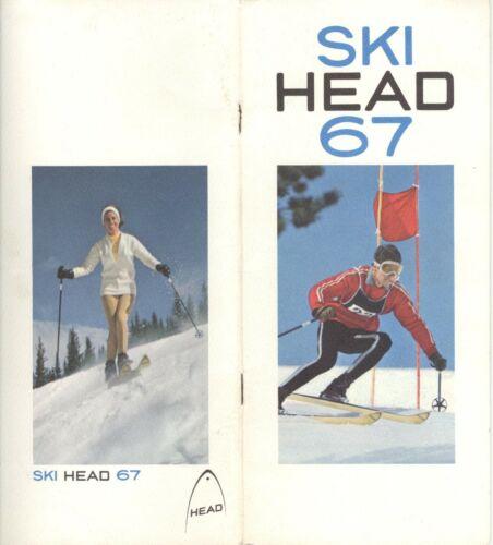 1967 HEAD SKIS BROCHURE