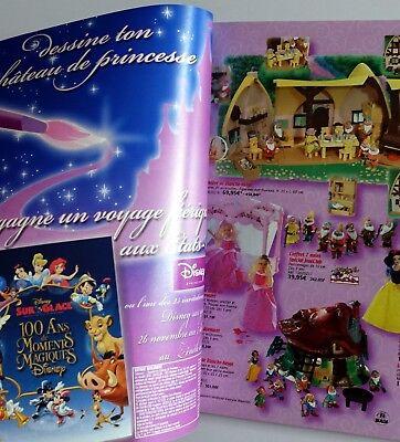 Catalogue jouets jouéClub Playmobil Barbie Power rangers Action man légo 2003