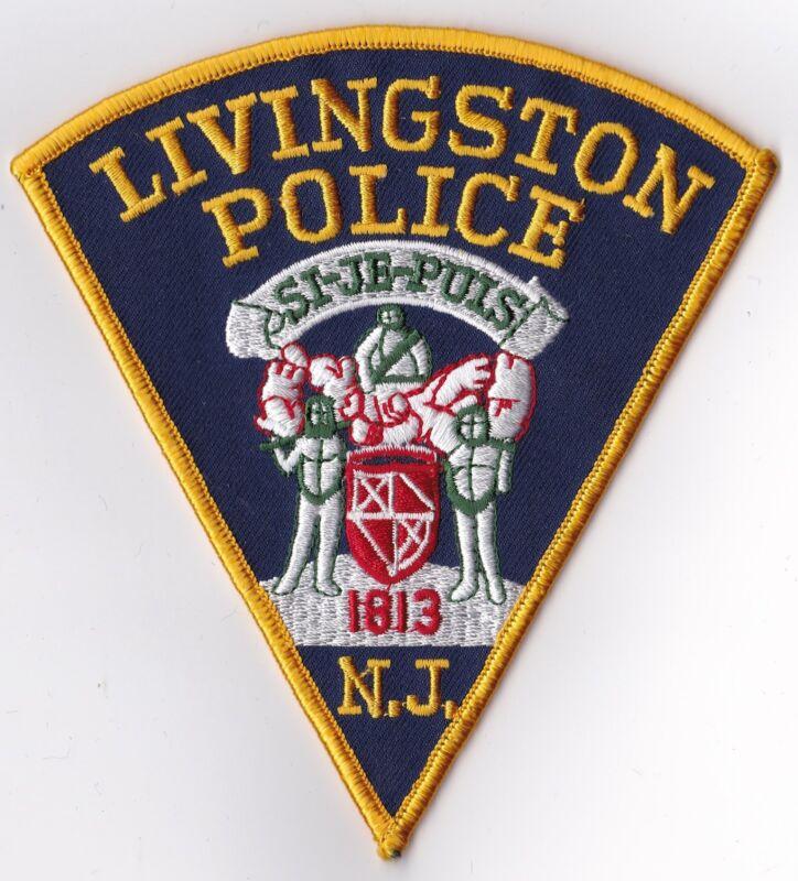 Livingston Police Patch New Jersey NJ