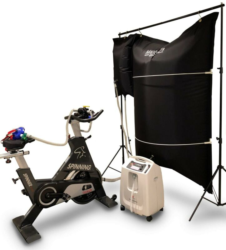 Maxx O2 EWOT Exercise With Oxygen Therapy / Altitude Training - Complete System