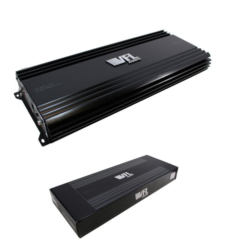 5500W Monoblock Amplifier 1 Ohm Stable Linkable w/Remote VFL Stealth 5500.1D