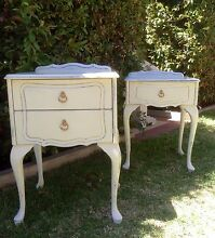 2 X FRENCH STYLE SIDE TABLES Wannanup Mandurah Area Preview