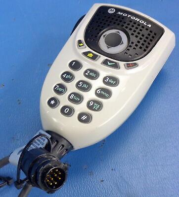 Motorola ASTRO APX 4500 APX 6500 XTL5000 Keypad Microphone HMN4079F
