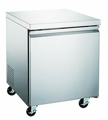 Counter Work Top Commercial Cooler 27 Under Counter Refrigerator New Nsf Etl