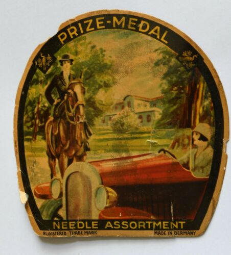 vintage SEWING NEEDLE BOOKS 1 GERMANY 1 PRYM dRITZ  DARNERS GERMANY
