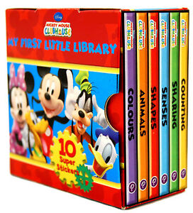Disney-Mickey-Mouse-Clubhouse-Little-Library-6-Book-set
