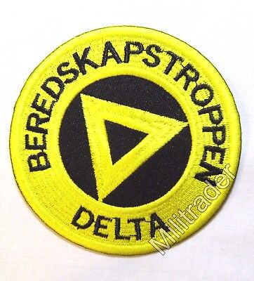Norway Norwegian Emergency Squad Beredskapstroppen Delta Patch