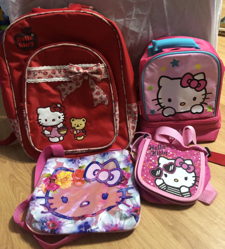 Sanrio Hello Kitty Backpack & Thermos Lunch Bag And More