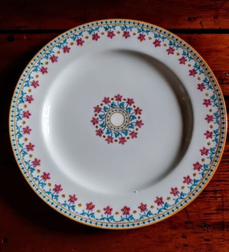TIFFANY & CO. N.Y. MINTONS DINNER PLATE EMBOSSED FLOWERS Springtime 3 available