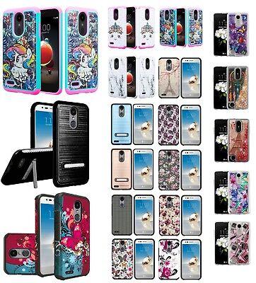 LG Zone 4 Slim Hybrid Hard Case Shockproof Phone Cover Cell Phone Case Verizon Verizon Cell Phone Cover