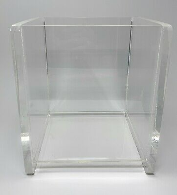 Acrylic Display Box Collectible Display Case Clear Store Display 6.75 X 7 X 9