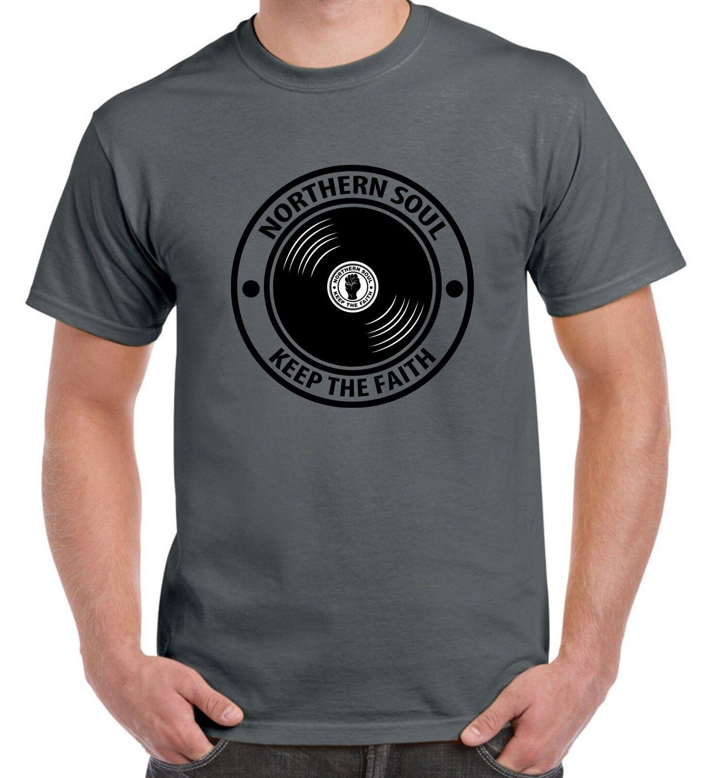 Wigan Casino Mod Northern Soul Dance Floor Keep The Faith Long Sleeve T-shirt