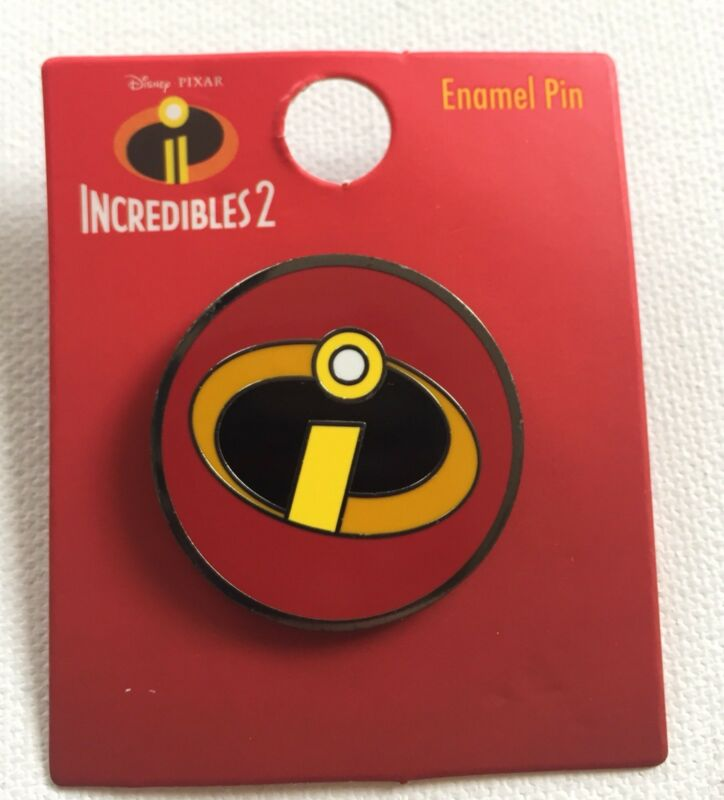 Disney Loungefly The Incredibles 2 Enamel Trading Pin Mr. Incredible Logo Pixar