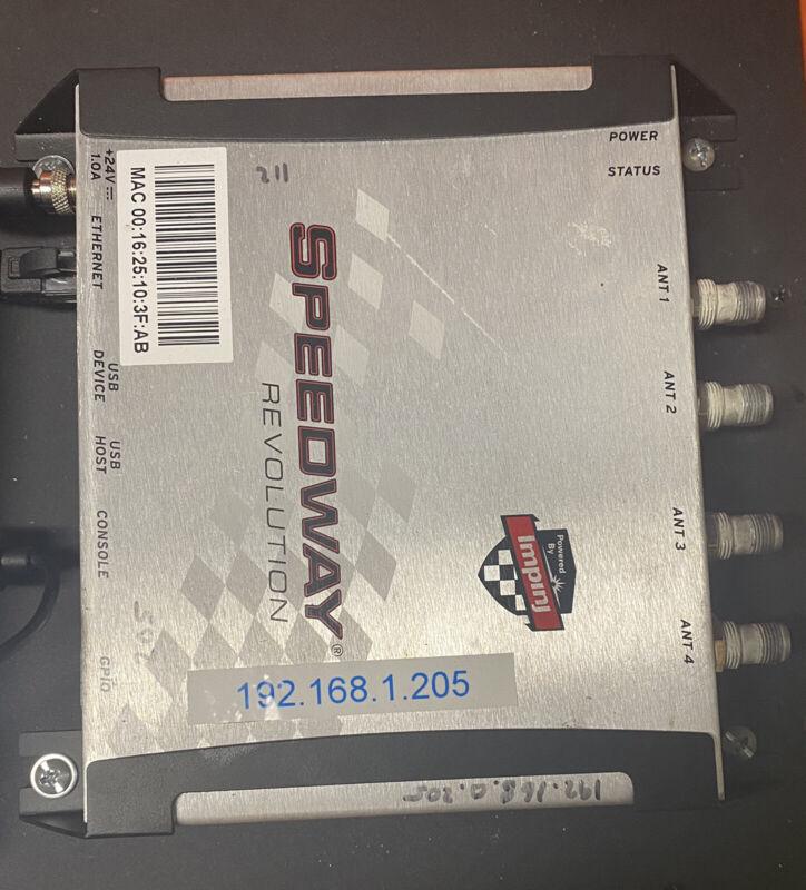Impinj Speedway R420 UHF RFID Reader USA/FCC (4 Port) with Power Cord