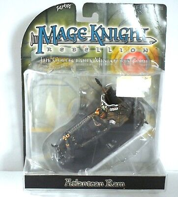 Mage Knight Rebellion LIMITED EDITION Atlantean Ram Collectable Game Figure New