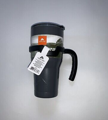 Ozark Trail 30 oz Vacuum Insulated Stainless Steel Tumbler with Handle - Gray for sale  Shipping to South Africa