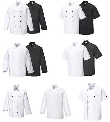 Kochjacke Bäckerjacke Kochkleidung Koch Gastronomiekleidung Berufsbekleidung Neu (Kochen, Kleidung)