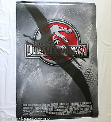 JURASSIC PARK III (Three) 27x40 Poster Display Advertising (2001) DOUBLE SIDED