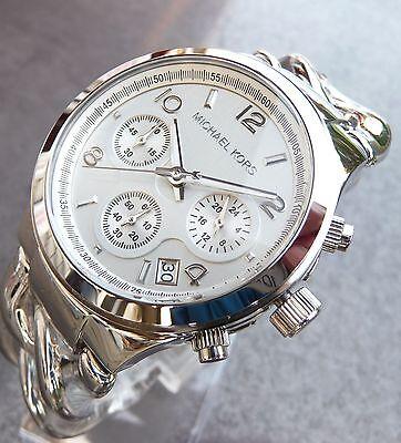 MICHAEL KORS MK3149 Armbanduhr für Damen SILBERFARBEN ARMBANDUHR NEU