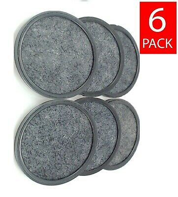(6) Mr. Coffee Replacement Charcoal Water Filter Disks for Mr Coffee Machines