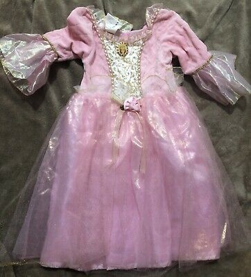 Barbie Princess Pink Costume Dress Ages 3 and Up  Fits - Barbie Princess Costumes
