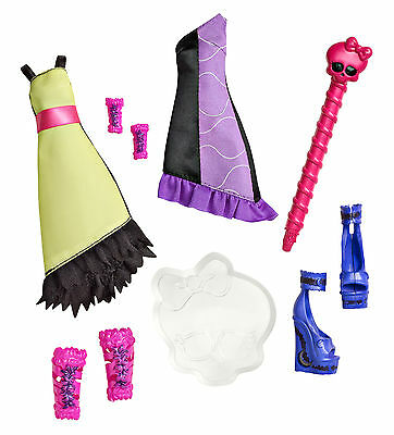 Monster High FASHION PACK Color me Creepy Werwolf Zubehör Y7728 ()