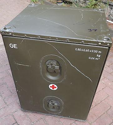 Zarges Box Kiste Bundeswehr BW Schrank Robust Kleinteileschrank Kfzeinbauschrank