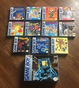 Original Gameboy lot