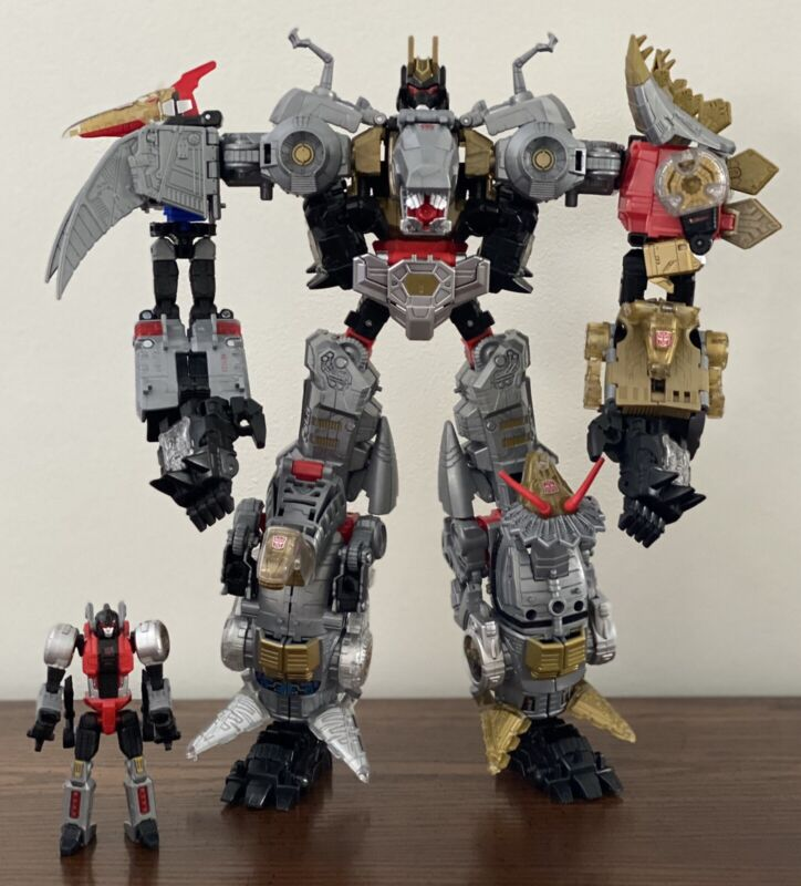 Transformers Power of the Primes POTP Volcanicus Dinobots AUTHENTIC