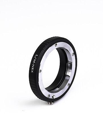 Objektivadapter LM-NEX Leica M Objektiv an Sony E-Mount NEX Kamera Adapter L/M