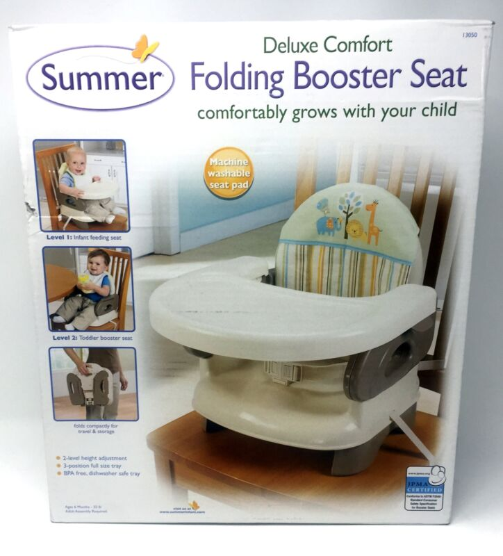 Summer Infant Deluxe Comfort Folding Booster Seat, 50% Off, Free US Shipping!
