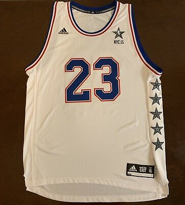 96021bcd0 Rare Adidas 2015 NBA All-Star Game Cleveland Cavaliers LeBron James Jersey