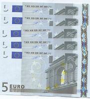 5 Euro - Duisenberg Primissima Serie - J003 B4 ,s, Fds/unc - Svendo -  - ebay.it