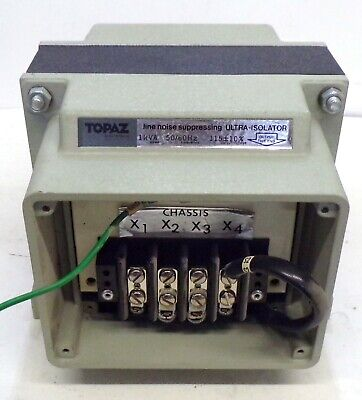 Topaz Line Noise Supressing Ultra Isolator 91901-45 5060hz 230460v Input
