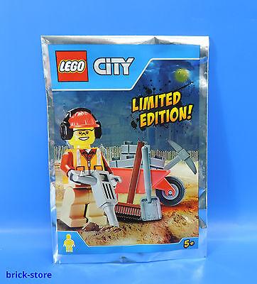 Lego City 951702 Edizione Limitata / Lavoratori Edili Figura con Accessori /